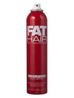 "10 Volumizing Hair Products Under $20: Samy Fat Hair ""0"" Calories Amplifying Hair Spray   allure.com"