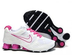 9842197ce5c Nike Store. Nike Shox Turbo 12 Women s Running Shoes - White Pink -  Wholesale