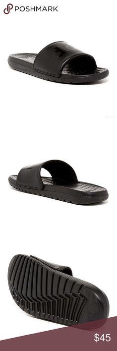 Adidas | Men's Slides Sandals Size 11! NWT!✨New in box! All black Mens Adidas Slides! Adidas Shoes Sandals & Flip-Flops