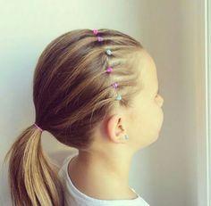 Peinado súper fáciles para las pequeñas