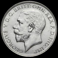 1925 George V Silver Florin, Scarce