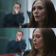 Wanda Maximoff, Steve Rogers // Captain America Civil War