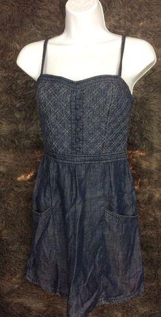 19be548ab4 DENIM SUPPLY RALPH LAUREN NWT Blue Star Print Racerback Maxi Dress sz S  89  in 2018