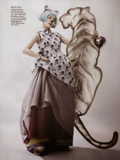 """Fashion on the Couch: Editorial Vogue Korea June 2014 """"Once Upon A Time"""" Feat So-Hee Song By Hyea-Won Kang"""