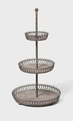 Orleans Three Tier Tray