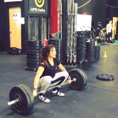 """onlyfitgirls: """" Lauren Fisher: This was my last snatch of a 20 minute EMOM - One Snatch at 70kg (154lbs) every minute! """""""