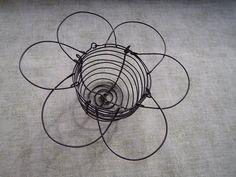 Výroba malého drátěného košíčku Wire Work, Wire Weaving, Wire Art