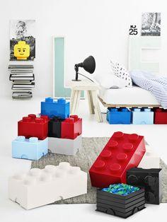 LEGO Förvaring 8 Blå