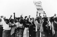 South African women on the frontline, protesting against the Apartheid regime. #IWD2016 #SUNUnotes #SUNUjournal