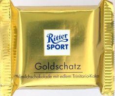 """Ritter Sport """"Goldschatz"""""""