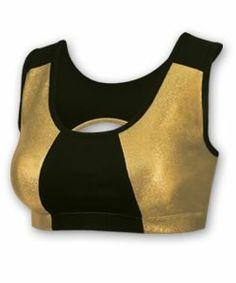 Save on Metallic Performance Sparts Bra by Chasse Cheerleading Apparel