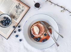 Dead Easy Vegan Pancakes – Culinary Cartel Vegan Pancakes, Brunches, Picnics, Vegan Gluten Free, Yum Yum, Lazy, Lunch Box, Sweets, Fruit