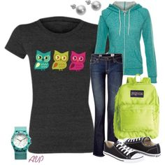 Casual Owl - I want this owl shirt!!