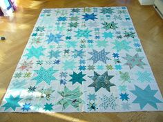 Oh my stars! Quiltop.
