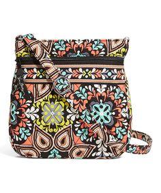 589f9bd3d6af Sierra Petite Double-Zip Hipster Crossbody Bag Vera Bradley Crossbody