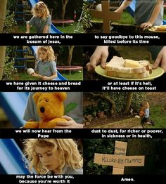 """And when she respected the rights of all living creatures. 21 Times Karen From """"Outnumbered"""" Was The Funniest Kid In Britain Tv Quotes, Funny Quotes, Funny Memes, Hilarious, Year Quotes, Stupid Memes, British Memes, British Comedy, British Sitcoms"""