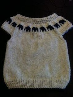 Life on Lindevej: Recipe for-Maid-West :) Kids Knitting Patterns, Knitting For Kids, Knitting For Beginners, Knitting Designs, Free Knitting, Baby Vest, Knit Vest, How To Purl Knit, Baby Kind