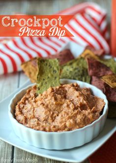 Easy Crockpot Pizza Dip