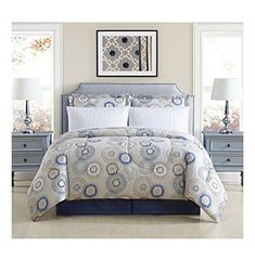 Living Quarters Gybson 8-piece Comforter Set