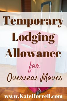 Understanding the Temporary Lodging Allowance (TLA) for overseas military moves. It& tricky, but it isn& hard. Military Spouse, Military Life, Military Pay, Military Families, Military Style, Oconus Pcs, Moving Tips, Moving Hacks, Military Benefits