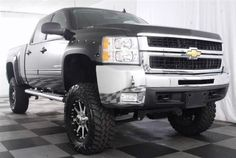 """A Chev """"Lifted"""" Truck"""