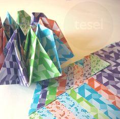 Tesel Tangram Bifaz — origamiteca