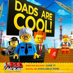 Share the love and say thanks to the coolest guy you know...your Pa! Happy #FathersDay! #LEGO #TheLEGOMovie #WarnerBros #EverythingIsAwesome