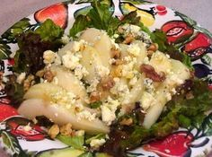 Thibeault's Table The Recipe Collection: Pear Salad with Spicy Candied Walnuts
