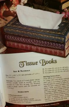 Tissue Books 1