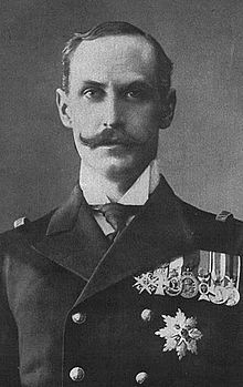 Haakon VII (Norwegian pronunciation: [ho̞ːkɔ̞̈n]; Prince Carl of Denmark and Iceland, born Christian Frederik Carl Georg Valdemar Axel; 3 August 1872 – 21 September 1957), known as Prince Carl of Denmark until 1905, was the first king of Norway after the 1905 dissolution of the union with Sweden. He was a member of the House of Schleswig-Holstein-Sonderburg-Glücksburg