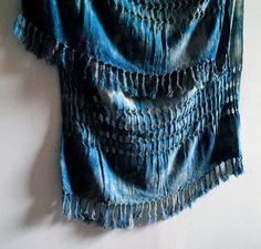 """""""My own take on creating a salt-worn scarf."""" - Elizabeth #SquidWhaleDesigns"""