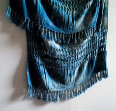 Handwoven Cotton Natural Indigo Dyed by SquidWhaleDesigns on Etsy, $90.00