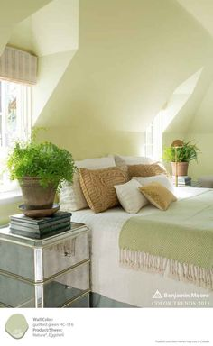 Breathe new life into any room with Guilford Green from Benjamin Moore. [ad]