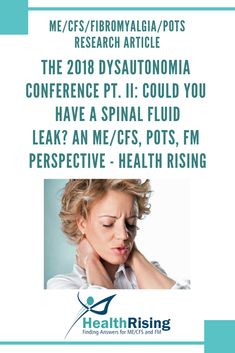 """""""Having lives derailed by intractable headaches is a tragedy, but it is a much greater tragedy when the person has an unrecognized CSF leak that could be fixed easily if only recognized. We can help them be back at work, and live life again more fully,"""" Ian Carroll MD Ian Carroll … Fibromyalgia Syndrome, Chronic Fatigue Syndrome, Chronic Illness, Chronic Pain, Cfs Symptoms, Hemiplegic Migraine, Autonomic Nervous System, Ehlers Danlos Syndrome, Spectrum Disorder"""