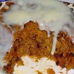 """""""I received this recipe about 40 years ago from a friend who said it had been in her family for generations. It comes out wonderfully moist and flavorful. I have given it as Christmas gifts many … Xmas Pudding, Date Pudding, Christmas Pudding, Christmas Desserts, Christmas Baking, Figgy Pudding, Christmas Gifts, Steamed Carrot Pudding Recipe, Pudding Recipes"""