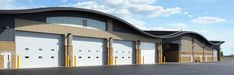 Commercial Garage Doors Commercial Garage Doors, Garage Door Opener, Mansions, House Styles, Outdoor Decor, Home Decor, Decoration Home, Manor Houses, Room Decor