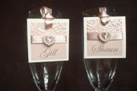 Beautiful name tags for your guests