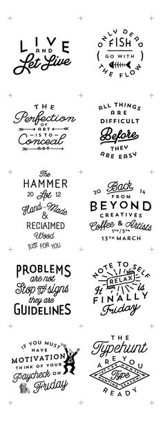 2013/14 LOGOS by Jorgen Grotdal, via Behance hand drawn type