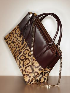 What's on Karlie Kloss's gift list: the Coach Borough Bag in Leopard
