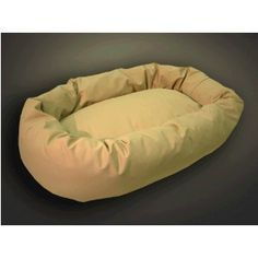 "High Loft Donut Bed - Medium 32"" - Khaki (Misc.) #dog beds #dog"