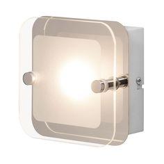 EEK A+, LED-Deckenleuchte Mountain I - Glas / Stahl - 1, Brilliant Jetzt bestellen unter: https://moebel.ladendirekt.de/lampen/deckenleuchten/deckenlampen/?uid=39f5ac43-91da-5474-975a-0f7c5da2d4b2&utm_source=pinterest&utm_medium=pin&utm_campaign=boards #deckenleuchten #brilliant #lampen #innenleuchten #deckenlampen