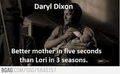 Darryl Dixon - Best mother in five seconds...
