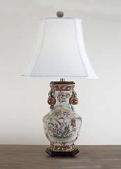 Boasting a beautifully delicate design, the Regency Hex Vase Table Lamp perfectly tops your bedside or accent table.