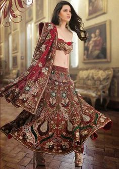 Indian Bridal Dresses Latest Collections For GIRlS (7)