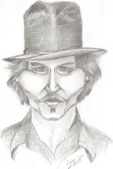 Contest Johnny Depp on Wittygraphy
