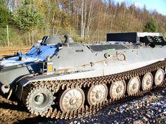 Pansarbandvagn 401 (pbv 401) was a Swedish light multi-purpose armoured towing vehicle
