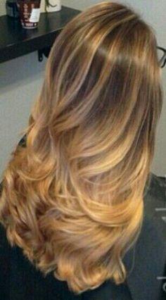 Long dirty blonde