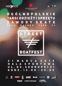 Street Boat Fest poster.