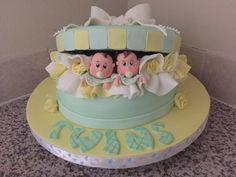 Baby shower // Twins baby's  cake // Katy, Tx // 832 9440888 // caketortas@gmail.com