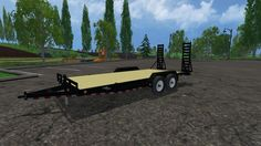 LOAD TRAIL EQUIPMENT TRAILER V1 for FS 2015 Load trail equipment trailer converted it from fs 2013 Author: AEM, trucker429 How to install mods Farming Simulator 15 game is an agricultural game that gives...